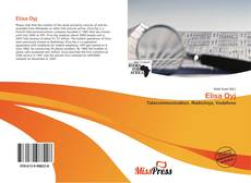 Bookcover of Elisa Oyj