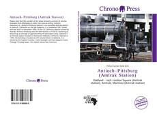 Bookcover of Antioch–Pittsburg (Amtrak Station)