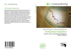 FirstCarbon Solutions kitap kapağı