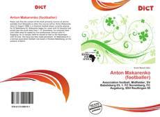 Buchcover von Anton Makarenko (footballer)