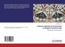 Copertina di Taboos related to Costumes of Rajput Community
