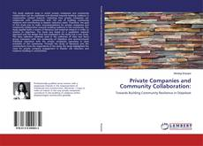 Bookcover of Private Companies and Community Collaboration: