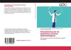 Portada del libro de Enseñanza en la práctica clínica odontológica