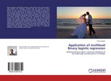 Buchcover von Application of multilevel Binary logistic regression