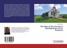 Buchcover von The Role of the Church in Reintegration of Ex-Prisoners