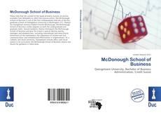 Buchcover von McDonough School of Business