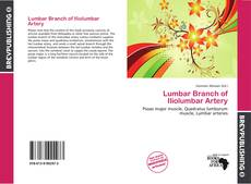Portada del libro de Lumbar Branch of Iliolumbar Artery