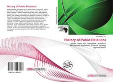 Couverture de History of Public Relations