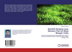 Buchcover von Rainfall Analysis over Western Part of West Bengal, India