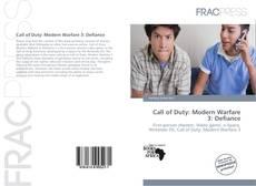 Capa do livro de Call of Duty: Modern Warfare 3: Defiance