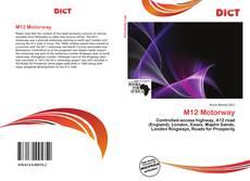 Bookcover of M12 Motorway