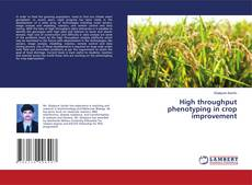 High throughput phenotyping in crop improvement kitap kapağı