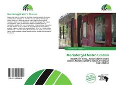 Bookcover of Mariatorget Metro Station