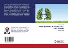 Bookcover of Management of Arbuda vis-a-vis Cancer