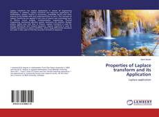 Bookcover of Properties of Laplace transform and its Application