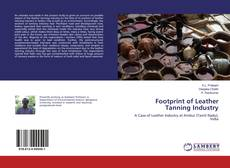 Capa do livro de Footprint of Leather Tanning Industry