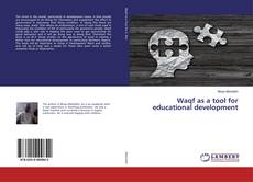 Waqf as a tool for educational development kitap kapağı