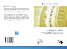 Bookcover of Minister of Supply