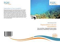 Aquaculture of sea cucumbers的封面