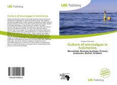 Capa do livro de Culture of microalgae in hatcheries