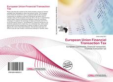 Couverture de European Union Financial Transaction Tax
