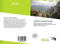 Portada del libro de Catalan Coastal Range