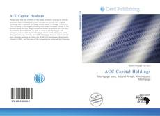 Bookcover of ACC Capital Holdings