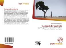 Bookcover of Acriopsis Emarginata