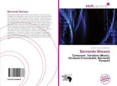 Bookcover of Bernardo Storace