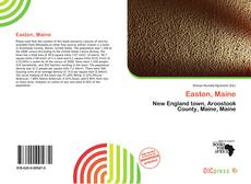 Bookcover of Easton, Maine
