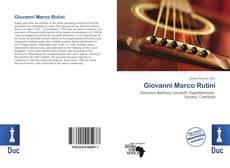 Bookcover of Giovanni Marco Rutini