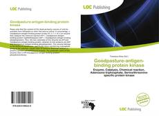 Portada del libro de Goodpasture-antigen-binding protein kinase