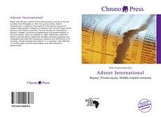 Capa do livro de Advent International