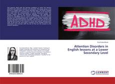 Buchcover von Attention Disorders in English lessons at a Lower Secondary Level