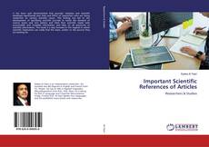 Bookcover of Important Scientific References of Articles