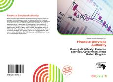 Bookcover of Financial Services Authority