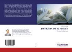 Portada del libro de Schedule M and Its Revision