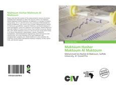 Maktoum Hasher Maktoum Al Maktoum的封面