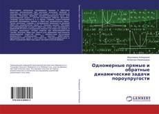 Copertina di Одномерные прямые и обратные динамические задачи пороупругости