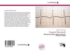 Bookcover of Cogent Research