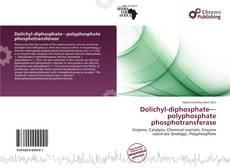 Couverture de Dolichyl-diphosphate—polyphosphate phosphotransferase
