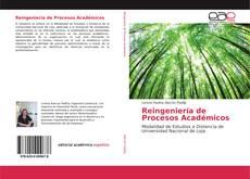 Reingeniería de Procesos Académicos kitap kapağı