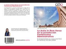 Обложка La Actio In Rem Verso en la Jurisdicción Contenciosa Administrativa