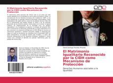 Bookcover of El Matrimonio Igualitario Reconocido por la CIDH como Mecanismo de Protección