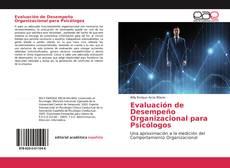 Capa do livro de Evaluación de Desempeño Organizacional para Psicólogos