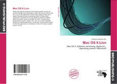 Couverture de Mac OS X Lion