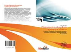 Bookcover of Ethanolamine-phosphate cytidylyltransferase