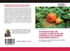Comparación de nuevos cultivares de calabaza (Cucurbita moschata Duch.) kitap kapağı