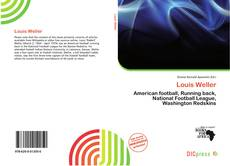 Buchcover von Louis Weller
