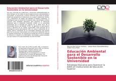 Portada del libro de Educación Ambiental para el Desarrollo Sostenible en la Universidad